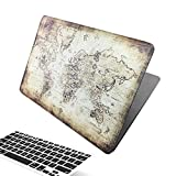 Best Macbook Air Covers - Brain Freezer World Map Printed Design Hard Cover Review
