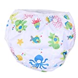 #9: BESTVECH Unisex One Size Waterproof Adjustable Swim Diaper Pool Pant Diaper(F03)