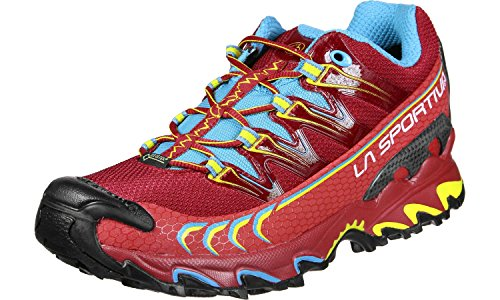 La Sportiva Zapatillas de senderismo Ultra Raptor Woman Blue/Coral 36m Fr1d1nor