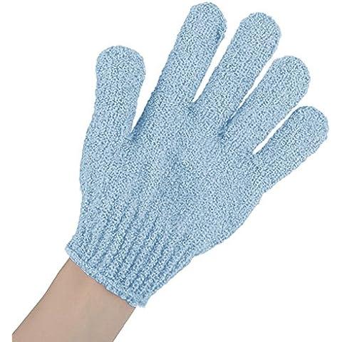 OUMOSI 3Pair/Lot Nylon Bagno Doccia Corpo del guanto massaggio guanti Scrub Esfoliante Pulizia Spugna Spa Accessori per il bagno