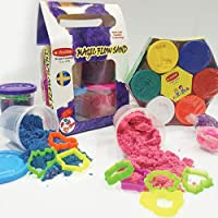 Rabbit Magic Flow Sand Gift Pack 500GM + Kid Doh Joy Pack| Play Clay Set for Kids with Tools|Play Sand Doh for Kids Boys…