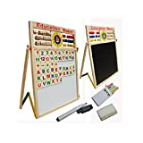 #6: Vaibhav Kids Magnetic Standing Easel Writing Education Board Toys For Kids Pre - school Creative Easel