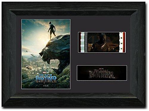 Black Panther Atemberaubende Kult Retro 35 mm Filmzelle, gerahmt Display -