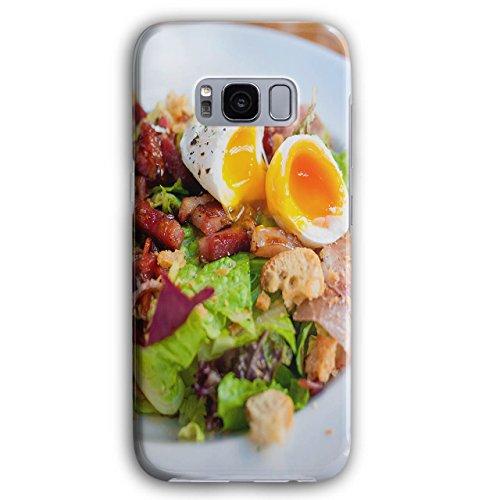 Schinken Abendessen (Salat Vegetarier Essen Essen Lecker 3D Galaxy S8 Plus Hülle | Wellcoda)