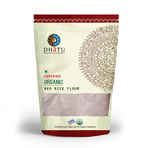 Dhatu Certified Organic Red Rice Flour – 500g