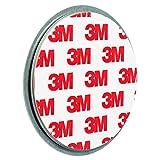 ECENCE 1x Magnetbefestigung/Magnethalter für Rauchmelder Ø 70mm 45020108001
