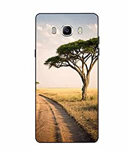 Case Cover Nature Printed Multicolor Soft Back Cover For SAMSUNG Galaxy On8