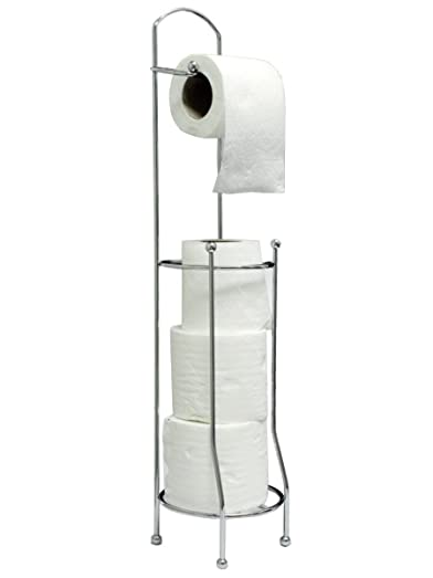 toilet roll holder for easier storage amazoncouk kitchen u0026 home