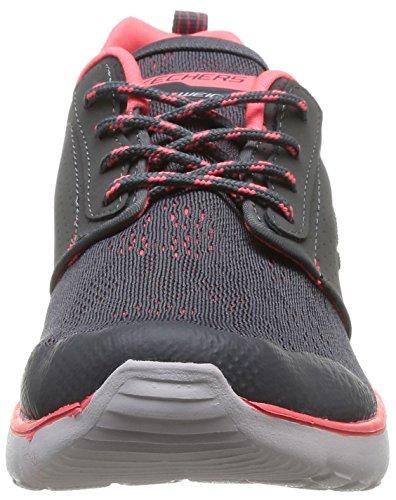Skechers Counterpart, Chaussures de sports en salle femme Gris (Cccl)