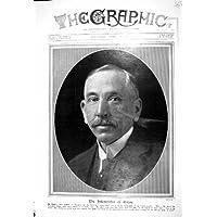 1916 GIORNO DELL'AUSTRALIA ANZAC DEL PRIMO MINISTRO DI HUGHES DEL RITRATTO DELLA FOTOGRAFIA