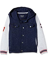 Cherokee Boys' Cotton Sweatshirt (272205456 Navy 03Y FS)