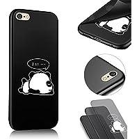 iPhone 6S Hülle Silikon, QianYang Malerei TPU Handyhülle für iPhone 6S 6 Schutzhülle Soft Pattern Muster Case Cover Handy Tasche Schale - Cartoon Panda