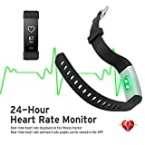 NOVETE Fitness Tracker Pedometer Sports Activity Tracker Bracelet IP67 Waterproof Wireless Smart Wristband Smart Watch Witch Heart Rate Monitorsleep Monitor For Android And IOS