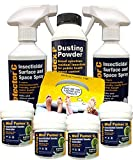 Large Bed Bug Fogger, Spray and Powder Killer Kit