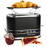 Andrew James 800W Matt Black 2 Slice Toaster - Best Reviews Guide