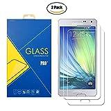 [2 Pack] Panzerglas Schutzfolie Samsung Galaxy A5 2015 SM-A500 / A500F / A500FU - Gehärtetem Glas Schutzfolie Bildschirmschutzfolie für Samsung Galaxy A5 2015 SM-A500 / A500F / A500FU