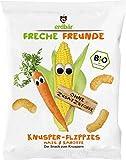 erdbär Freche Freunde Knusper- Flippies Mais & Karotte ab 1 Jahr 25 g
