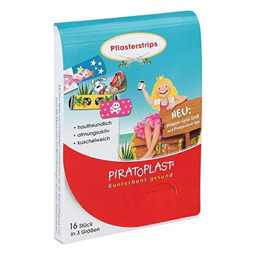 (Piratoplast Mädchen Pflasterstrips 3 Grössen 16 stk)
