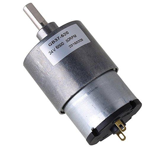 cnbtr 37mm 50RPM velocità Ridurre 24V miniatura elettrico DC orientata