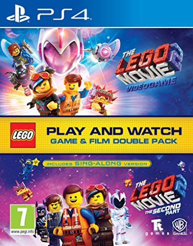 Lego Movie 2 Game & Film Double Pack (PS4) Best Price and Cheapest