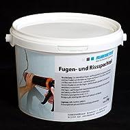 Orig. Ruberstein® Fugen- und Rissspachtel, Mörtel für Riss, 2kg gebrauchsfertig im Eimer
