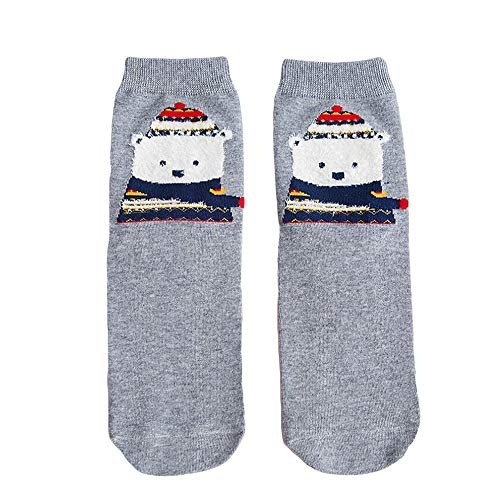 (TEBAISE Damen 1 Paar Nette lustige Damen Mädchen Socken Neuheit atmungsaktiv Tiermuster Crew Socken lässig Kniestrümpfe,Sportsocken,Stoppersocken,Strapsstrümpfe)