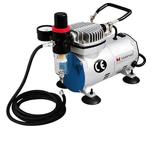 voilamart-1-6hp-high-performance-professional-quiet-air-compressor-hose-stencils-kit-for-airbrush-sp