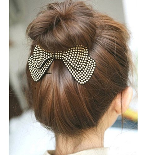 cuhair(TM) 1pcs punk vintage women girl hair claw clip hair pin barrettes accessories (black)