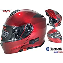 CASCO MOTO MODULAR VCAN V271 BLUETOOTH INCASCO MOTO MODULAR VCAN V271 BLUETOOTH INTEGRADO ECE HOMOLOGADO INTEGRAL