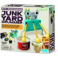 Price comparsion for Construct Your Own Junkyard Robot Drummer - Simple To Create Set - Number One Educational - Educational Science Present Gift Ideal For Christmas Xmas Stocking Fillers Age 8+ Girls Boys Kids Children