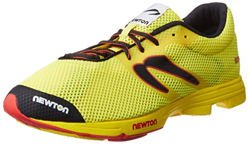 NEWTON Uomo Runnings CHUH Distance Elite Racer, Yellow/Red, 11