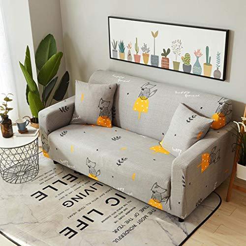 Lyx1,copridivano fodera per fodera per divano elasticizzato coprisedili imbottiti soft fit antiscivolo (dimensioni : 190-230cm(74-90inch))