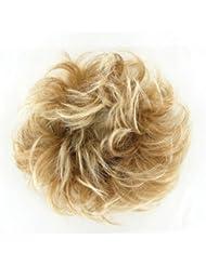 chouchou cheveux blond clair cuivré méché blond clair ref: 17 en 27t613