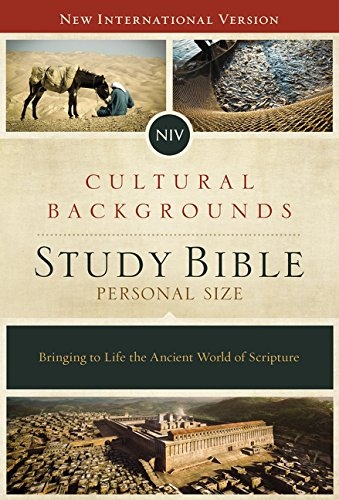 NIV, Cultural Backgrounds Study Bible, Personal Size, Imitation Leather, Pink/Brown, Indexed, Red Letter Edition: Bringing to Life the Ancient World of Scripture
