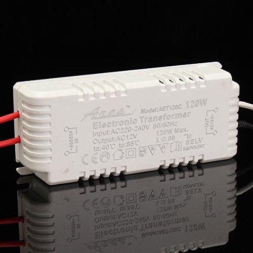 MASUNN AC 220V A AC 12V 20/50/80/120/160/200/250W LED Striscia di Alimentazione della Lampada Adattatore Trasformatore Driver-120W