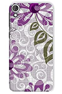 IndiaRangDe Case Cover For HTC Desire 820