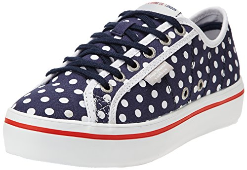Pepe Jeans Duffy Dots, Baskets mode femme