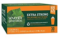 Seventh Generation Trash Bags, Tall Kitchen, 13-Gallon, 30-Count Boxes (Pack of 12) by Seventh Generation