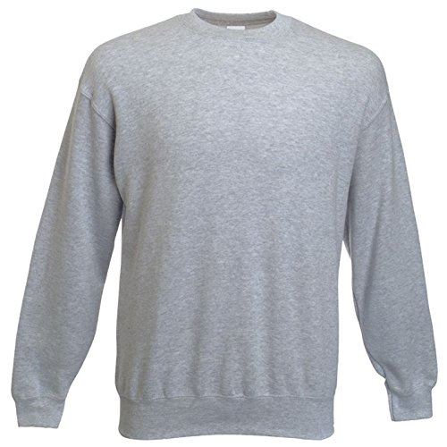Fruit of the Loom - Sweatshirt 'Set-In' L,Heather Grey