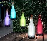 LED Spezial Stimmungsbeleuchtung Imitation dekorative Flasche Solarleuchten für Terrasse Garten