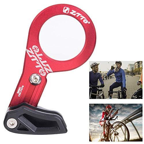 lesgos BB Mount Kettenführung, MTB Kettenführung Radfahren Kettenführung für die meisten Fahrrad Rennrad Mountainbike BMX Fixie (7075 CNC RED) -