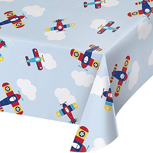 Creative Converting 332212 Kunststoff-tischdecke, Bedruckt, 137 X 102 Cm, Einheitsgröße, Mehrfarbig