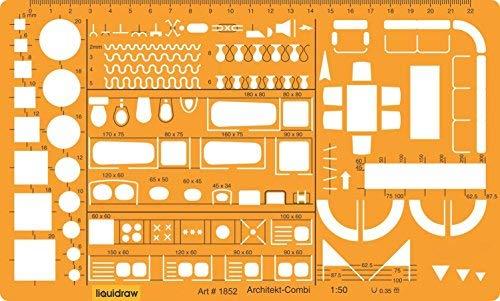 Liquidraw - Plantilla de Dibujo a Escala 1:50 para Dibujo técnico, diseño...