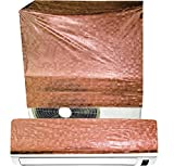 E-Retailer's Brown P.V.C Split Air Condtioner Cover For 2 Tonn (UNIVERSAL)