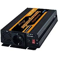 inversor de corriente 1000 2000w convertidor de voltaje de 12v 220v onda sinusoidal pura