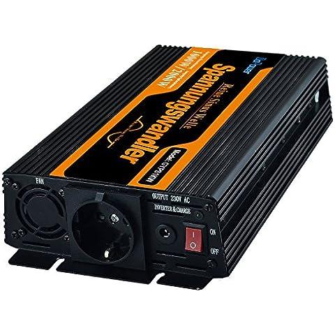 Inversor de corriente 1000 a 2000w convertidor de voltaje de 12v a 220v onda sinusoidal pura
