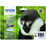Epson T08954010 Ink Cartridge Multi Pack for S20/ SX100 Series Printer - Black/ Cyan/ Magenta/ Yellow