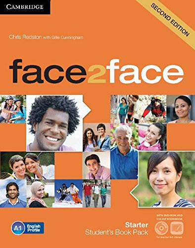 face2face Starter Student's Book with DVD-ROM and Online Workbook Pack Second Edition