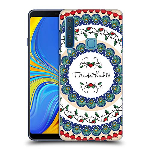 Official Frida Kahlo Mandala Peacock Hard Back Case Compatible for Samsung Galaxy A9 (2018) / A9s