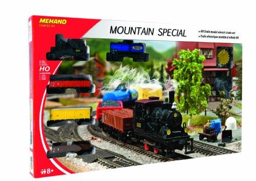 Mehano- Trenino Elettrico Mountain Special, Multicolore, H0, T112